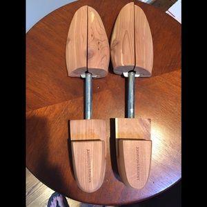 Johnston and Murphy cedar shoe trees